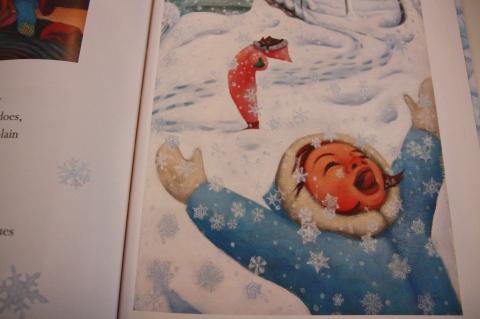 """Snow"" by Cynthia Rylant & Lauren Stringer"