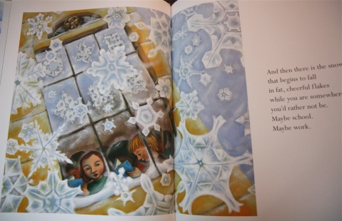 """Snow"" by Cynthia Rylant & Lauren Stringer"