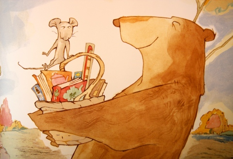 """A Library Book for Bear"" by Bonny Becker"