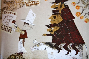 """""""Kid Sheriff and the Terrible Toads"""" by Lane Smith"""