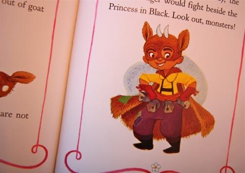 """The Princess in Black"" by Shannon Hale & Dean Hale & LeUyen Pham"