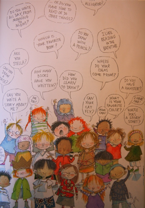 (Incidentally, the speech bubbles peppered throughout the book are perfect for early readers and invite a wonderful collaborative experience of reading with your children.)