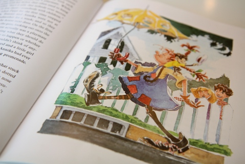 """""""The Adventures of Pippi Longstocking"""" by Astrid Lindgren & Michael Chesworth"""