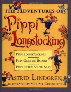 """The Adventures of Pippi Longstocking"" by Astrid Lindgren"