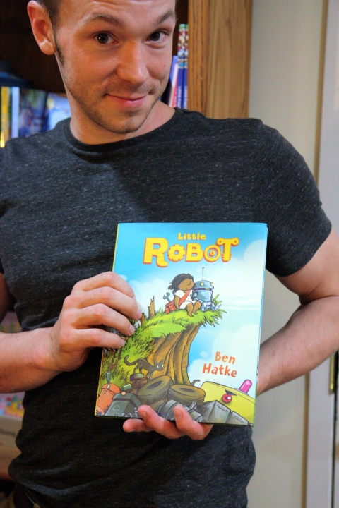 """Little Robot"" by Ben Hatke"