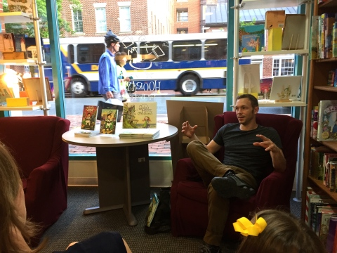 Ben Hatke at Hooray for Books