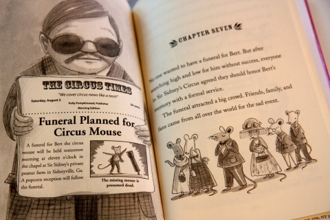 """Three-Ring Rascals: Pop Goes the Circus"" by Kate Klise"