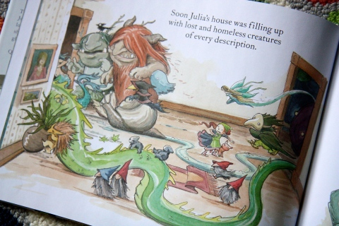 """Julia's House for Lost Creatures"" by Ben Hatke"