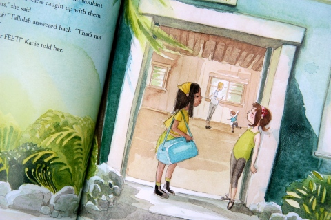 """Tallulah's Tap Shoes"" by Marilyn Singer & Alexandra Boiger"