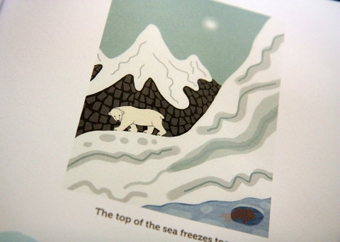 """Nanuk: The Ice Bear"" by Jeanette Winter"