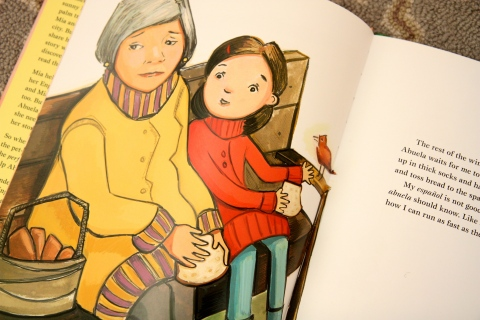 """""""Mango, Abuela & Me"""" by Meg Medina & Angela Dominguez"""