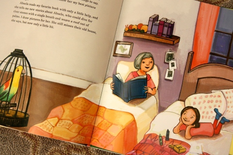 """Mango, Abuela & Me"" by Meg Medina & Angela Dominguez"