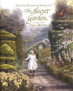 """""""The Secret Garden"""" by Frances Hodgson Burnett & Inga Moore"""