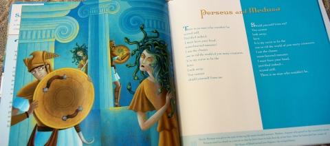 """Echo Echo: Reverso Poems About Greek Myths"" by Marilyn Singer & Josee Masse"