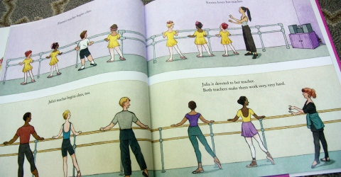 """Emma and Julia Love Ballet"" by Barbara McClintock"