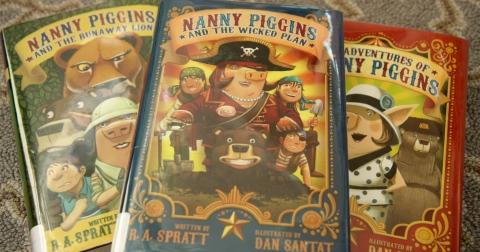 """The Adventures of Nanny Piggins"" by R.A. Spratt"