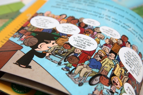 """I am Helen Keller"" by Brad Meltzer & Christopher Eliopoulos"