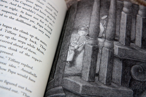 """The Doll People"" by Ann M. Martin & Laura Godwin & Brian Selznick"
