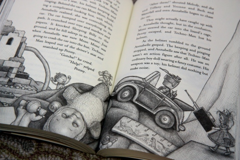 """The Meanest Doll in the World"" by Ann M. Martin & Laura Godwin & Brian Selznick"