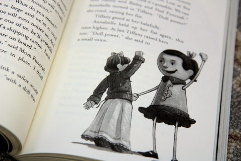 """The Doll People Set Sail"" by Ann M. Martin & Laura Godwin & Brett Helquist"
