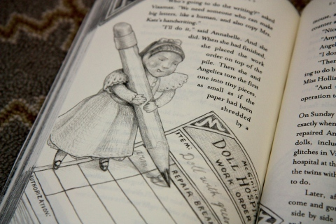 """The Runaway Dolls"" by Ann M. Martin & Laura Godwin & Brian Selznick"