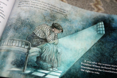 """Elizabeth Started All the Trouble"" by Doreen Rappaport & Matt Faulkner"