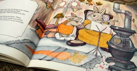 """Little Rabbit's Loose Tooth"" by Lucy Bate & Diane de Groat"